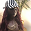 Thumbnail: Wig hat with red loose wave hair