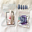 Thumbnail: Blue Glitter Glitter Press'd