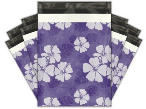 10ct Purple Dreams Poly Mailers 10x13