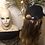 Thumbnail: Wig hat with long blonde hair