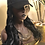 """Thumbnail: Hat Wig with hair attached/sewn with 16/18"""" heat resistant 1B (natural black) sy"""