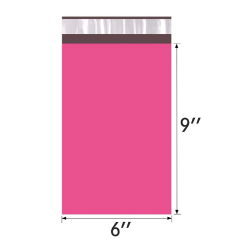 10ct 6x9 pink poly mailer