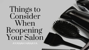 Things To Consider When Reopening Your Salon