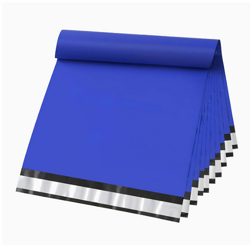 10x13 Blue poly Mailers 10ct