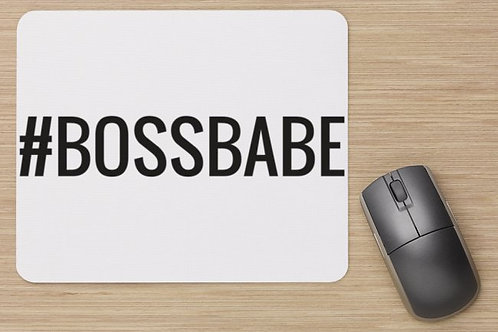#bossbabe mouse pad
