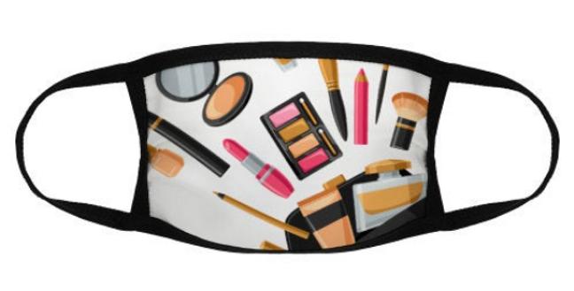 Face mask for makeup artist