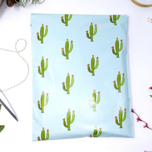 10ct Cactus Polymailer 10x13