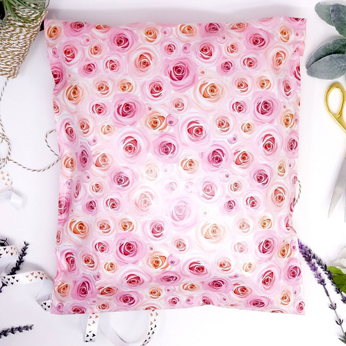 10ct 9x12 medium Rosey Poly Mailers