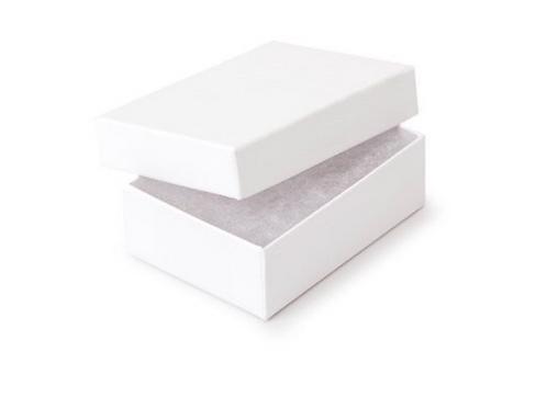 Jewelry Box-white- 3.5/3.5/1 inch