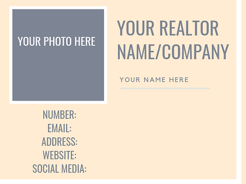 Realtor Boss 2 Business Cards