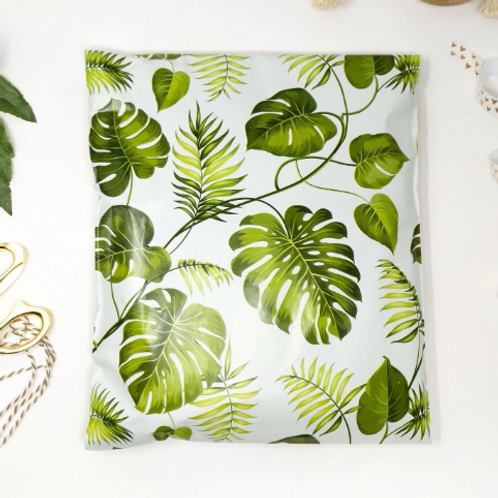 14x19 Large Banana Leaves Poly Mailers 10ct