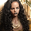 Thumbnail: Lace front black long curly wig