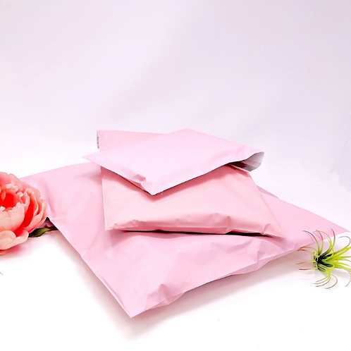 6x9 Soft Pink Poly Mailers 10ct