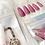 Thumbnail: Pink Glitter Press'd