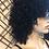 Thumbnail: Black curly sewn wig