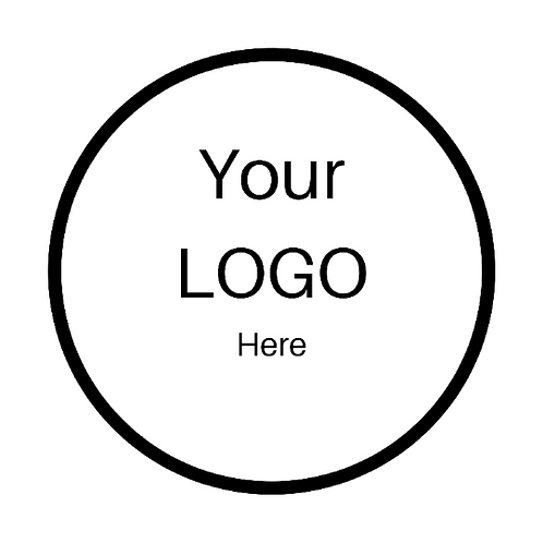 24  Your Logo Stickers