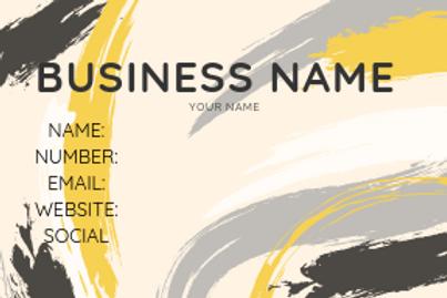 Herway Design 1 Business Cards