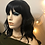 Thumbnail: Synthetic Black Bodywave Wig With Bangs