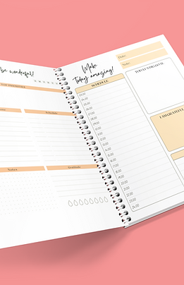 Daily Planner 7 Day Freebie