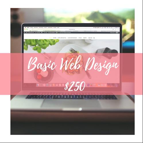 Basic Web design
