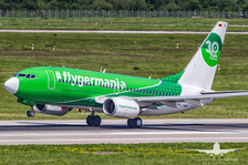 Germania B737-700 30 years Germania livery