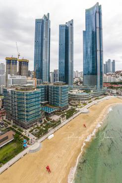 Highrise Condos, Haeundae Beach