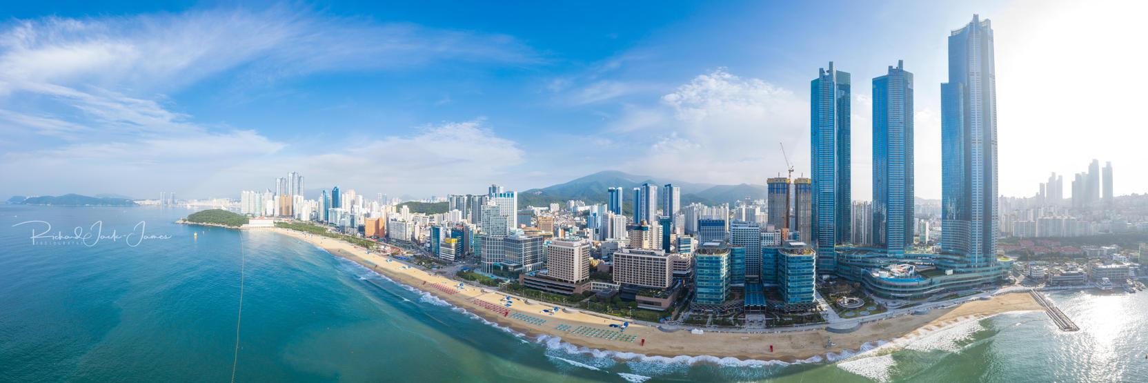 Haeundae Beach Skyline