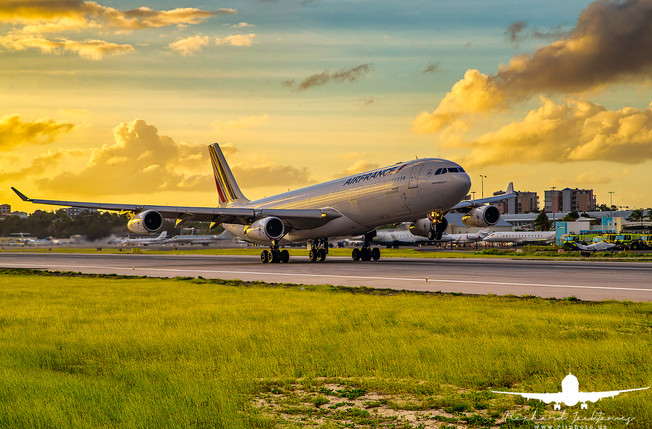 Air France A340-300 F-GNII