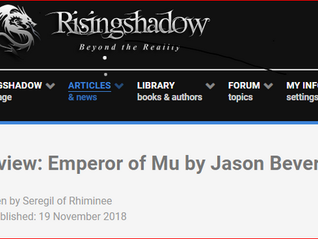 Exceptional praise from Risingshadow