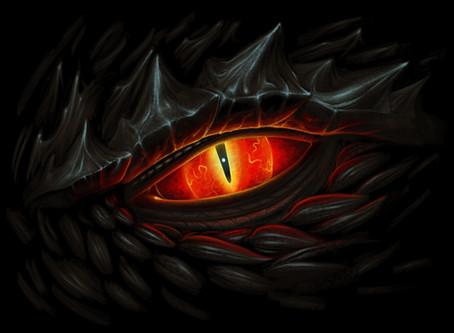 Meeting eye-to-eye with a Draken
