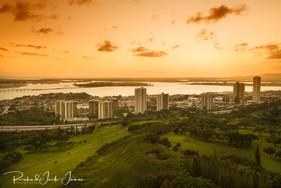 Hawaiian Golden Sunset