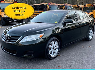2011 Toyota Camry LE Green 115k Cover.jp