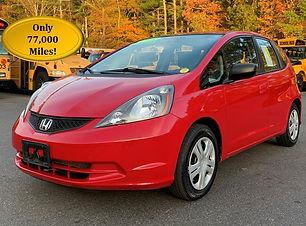 2009 Honda Fit Red 77k Cover.jpg