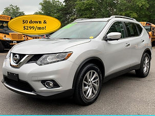 2014 Nissan Rogue SL Silver 85k Cover 2.