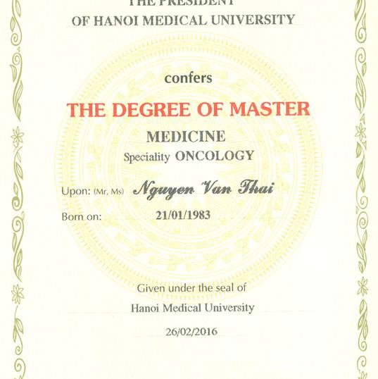 Chứng nhận đào tạo y khoa