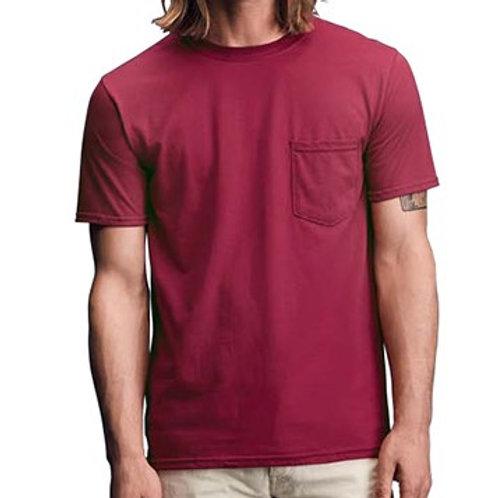 ANVIL安沃 783美式精梳棉口袋潮T恤