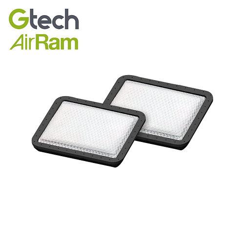 英國 Gtech 小綠 AirRam 原廠專用 HEPA濾網(兩片裝)