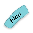 blaue Farbauswahl