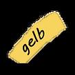 gelbe Farbauswahl