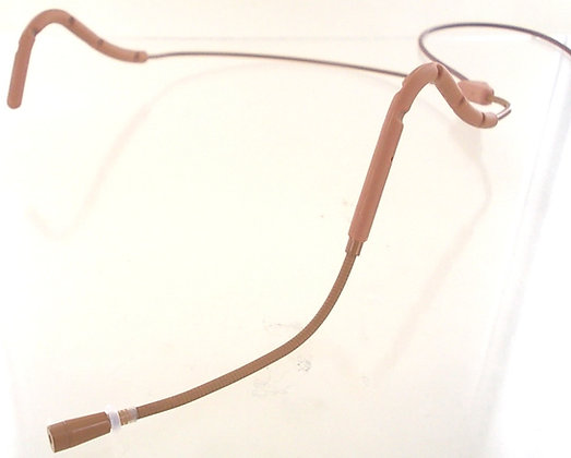 AV-JEFE AVL623 Professional Mini Sweat Resistant Headset Mic_Brown