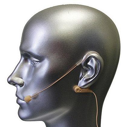 AV-JEFE AVL670 Professional Mini Earhook Microphone_Beige