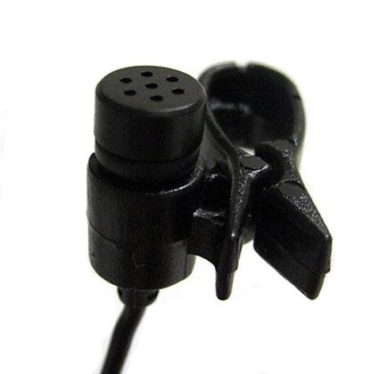 AV-JEFE TCM141 Lapel Tie Clip Microphone_Black Color