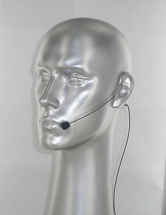 AV-JEFE AVL630 Mini Earhook Microphone_Black