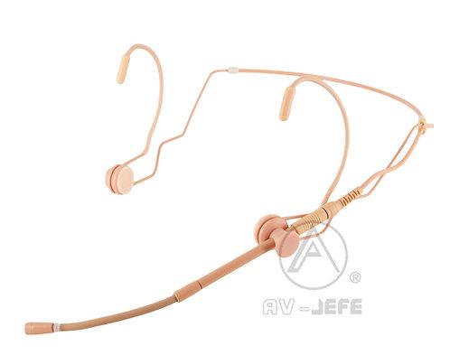 AV-JEFE AVL636D Dual Sided Miking Pro Headset Microphone_Gooseneck Boom