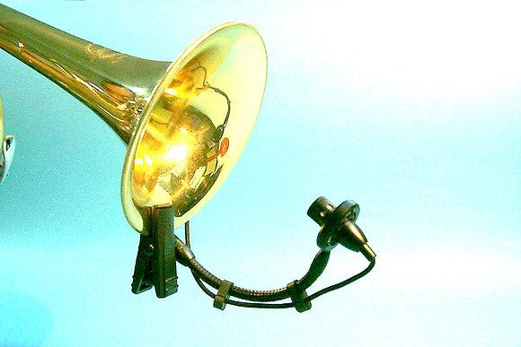AV-JEFE PMM22 Professional Wind Instrument Microphone w Mini Shock Mount Holder