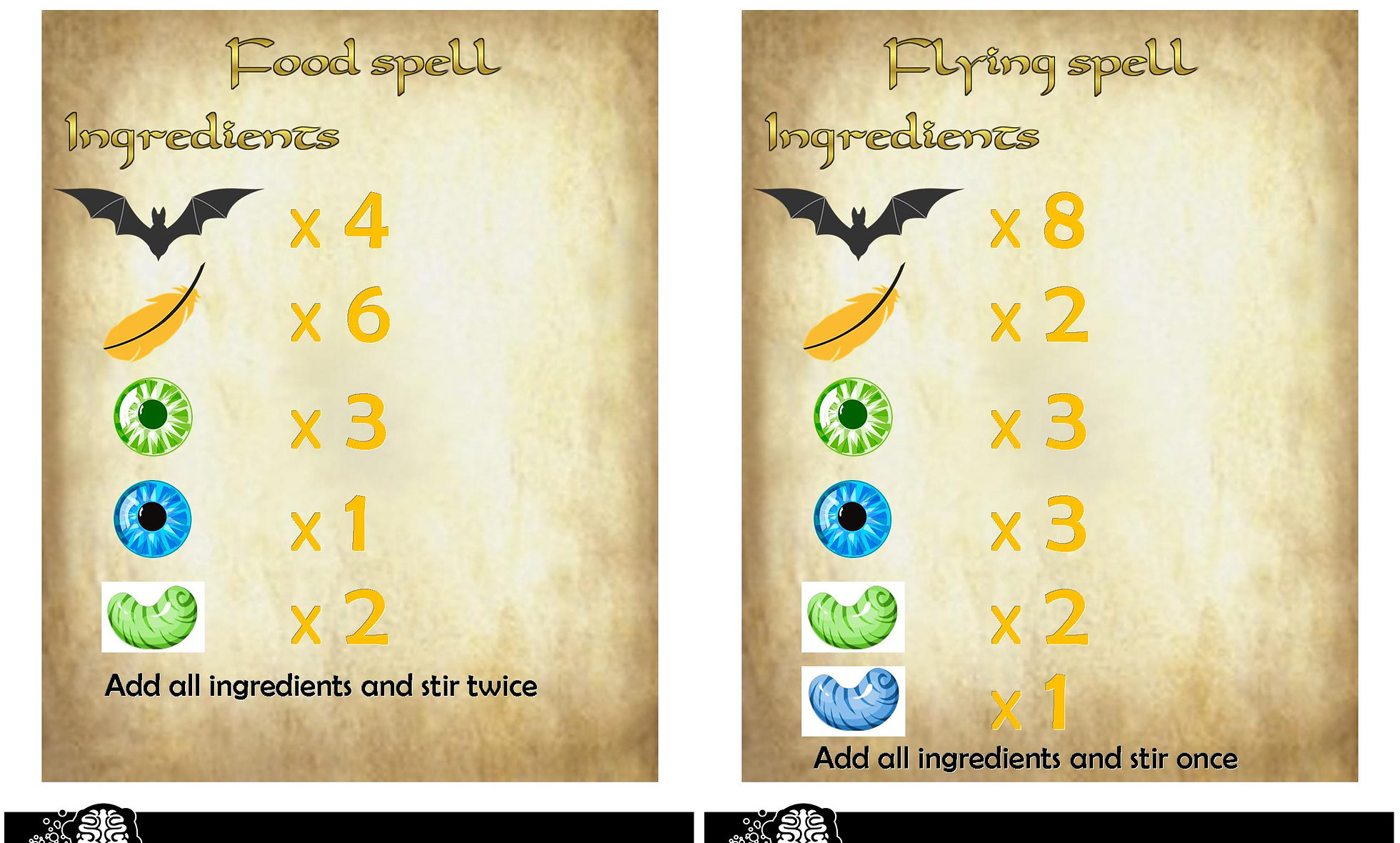 Magic Spell Counting
