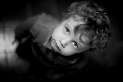 Shooting enfant façon studio photo art