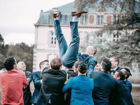 On a lancé le marié !