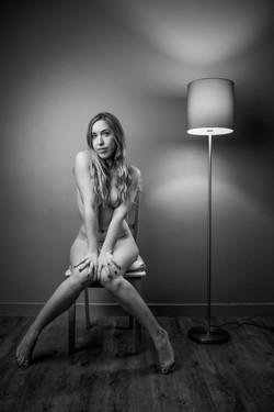 Mise en scène photo boudoir