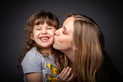 portrait mère et fille